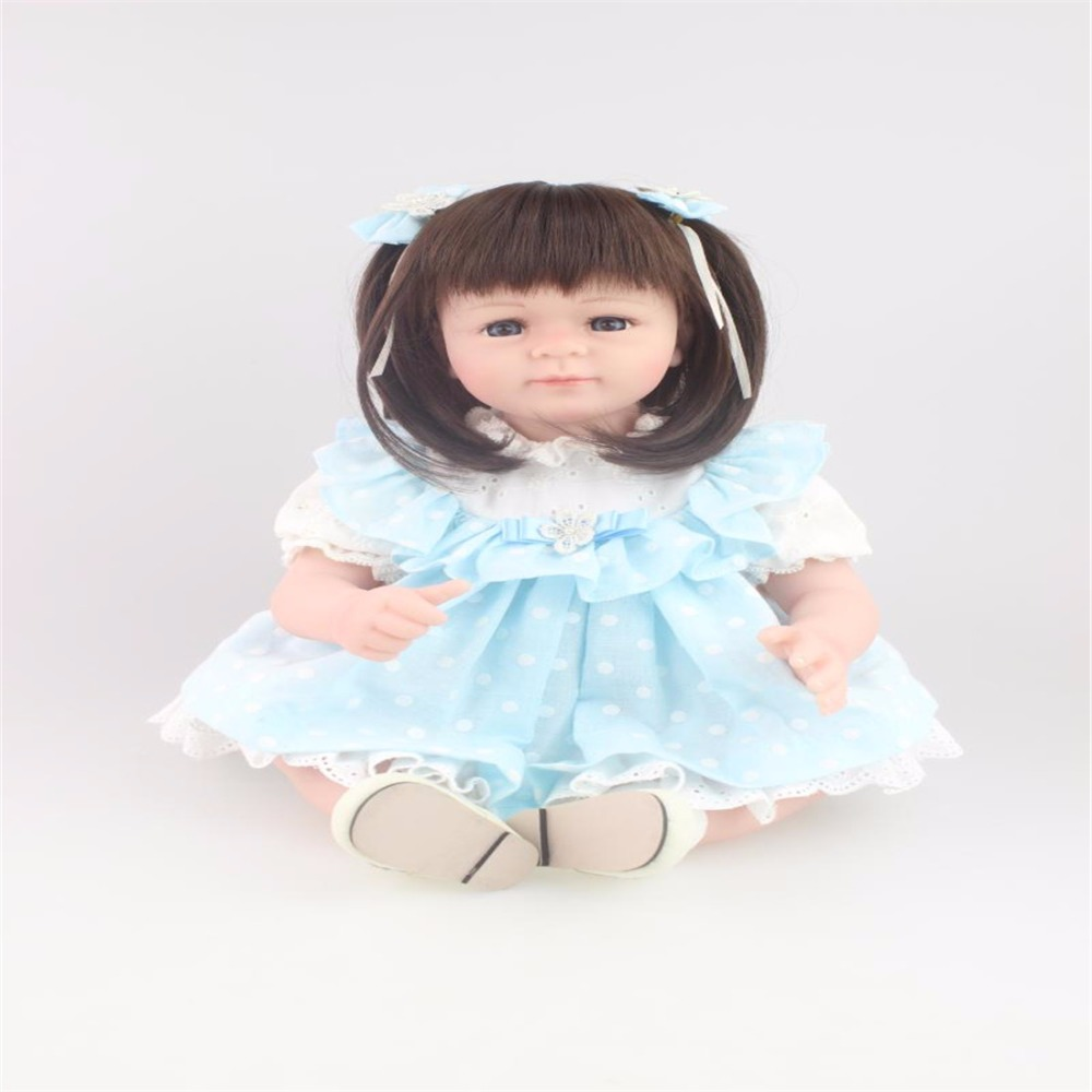20inch 52cm Silicone baby reborn dolls, lifelike doll reborn babies toys for girl princess gift brinquedos  Children's toys 18inch 45cm silicone baby reborn dolls lifelike doll reborn babies toys for girl princess gift brinquedos children s toys
