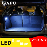 lamp dome bulb For Toyota C-HR CHR 2016 2017 2018 2019 LED Bulb Luggage Lamp Interior Dome Light Car Trunk Compartment Light Car Accessories (1)