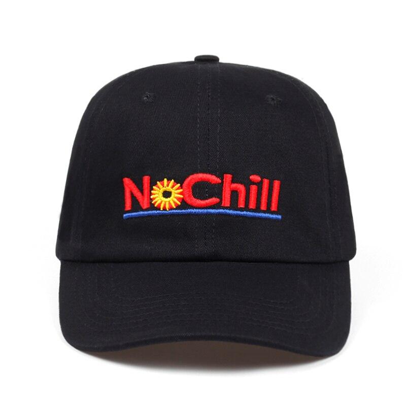 b06c9f1bb US $4.97 30% OFF 2018 brand NO CHILL Hat dad hat men women fashion cotton  baseball cap adjustable Hip hop snapback cap hats bone high quality-in ...
