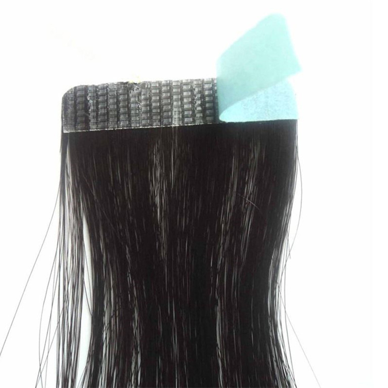 Careful 12pcs Strong Hair Glue Extension Tape Adhesive Blue Super Tape/double-sided Real Wig Glue Hair Extensions Adhesive Styling Tools Neither Too Hard Nor Too Soft