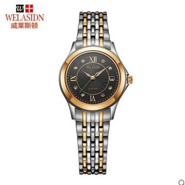 Homens amantes de Quartzo de Aço Inoxidável relógio à prova d' água relogio masculino hombre Negócios Relógios de Pulso dos homens Relógio De Pulso De Luxo