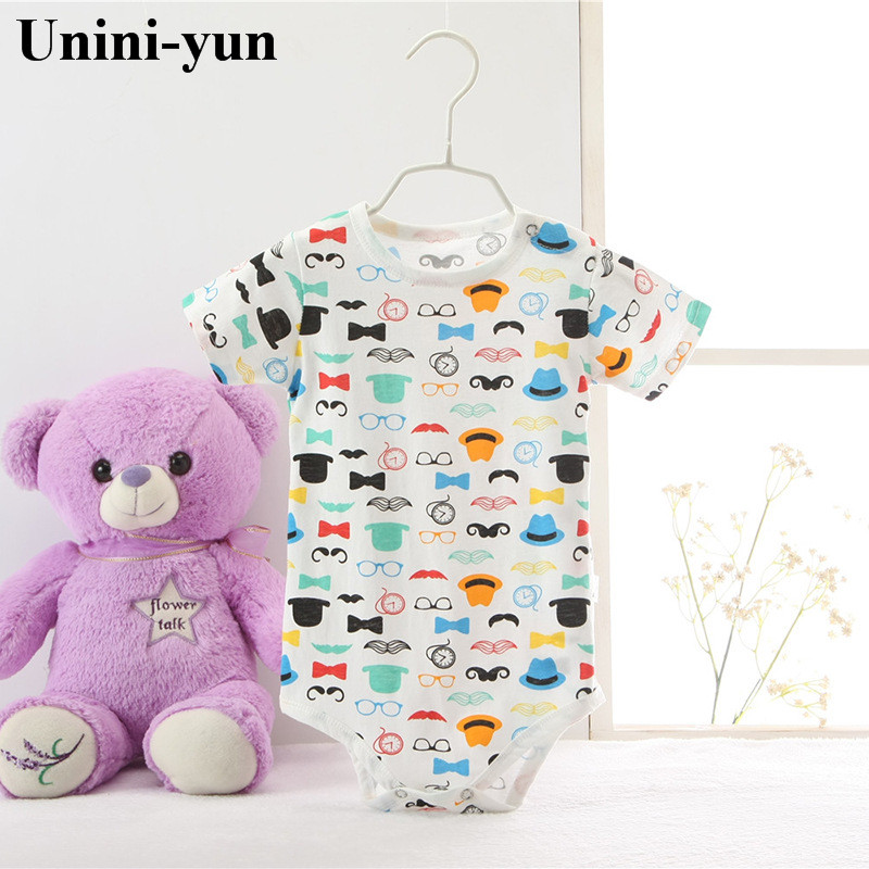 2017 New Baby Rompers Short Sleeve 100% Cotton Newborn Baby Clothes Babies Jumpsuits Clothing Sets Comfortable Baby Rompers cotton baby rompers set newborn clothes baby clothing boys girls cartoon jumpsuits long sleeve overalls coveralls autumn winter