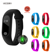 Bluetooth Smart Watch Heart Rate Tracker Waterproof Smart Band Fitness Wristband With Pedometer Sport Bracelet For IOS Android