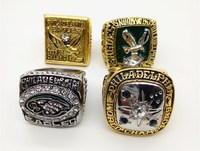 High Quality 4 Pcs Lot 1949 1960 1980 2004 Philadelphia Eagles World Series Championship Ring With