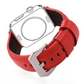 Leather Watch Strap High Quality Genuine Leather Watchband For Applewatch Series 2/1 38MM/42MM Red Watch Band 2016 New APB2220