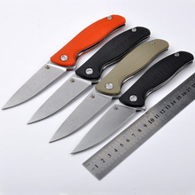 Hardness 56-58HRC 440 blade folding knife outdoor camping survival tool hunting tactical EDC knives