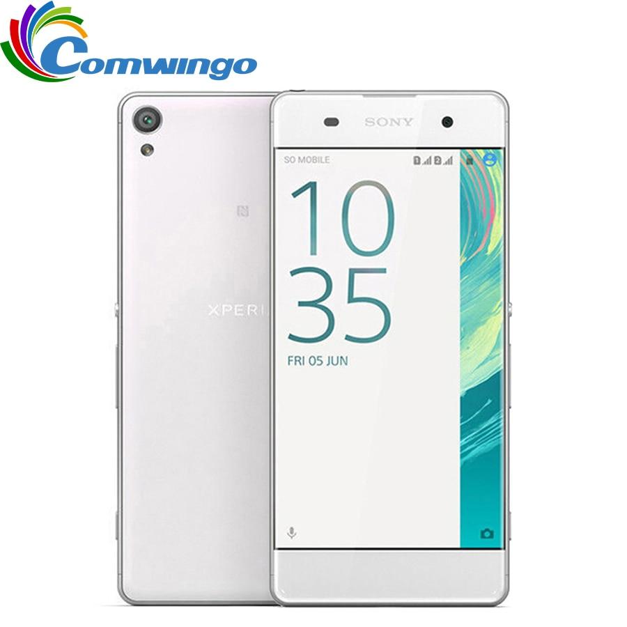 Original sony xperia x f5121 3 gb ram 32 gb rom 5.0 Polegada android hexa-core 23mp câmera 2600 mah único sim telefone móvel