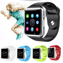 A1 2016 Men Women WristWatch Bluetooth Smart Watch Android Sport Pedometer With SIM Slot Camera Smartwatch