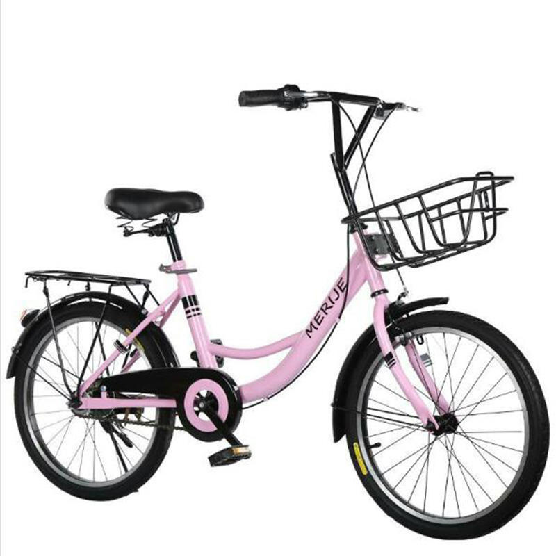 2019 New 16-inch 20-inch Bicycle Student Adult New Fashion Foldable Bicycle Lady Leisure Recreation Manned Commuter Bicycle