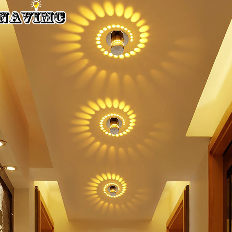 Creative Lamp Small LED Ceiling Light for Art Gallery
