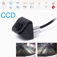 HD CCD 170degree Car Rear View Side Front Color Night Vison BACKUP Camera