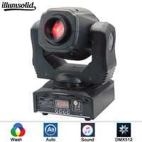 Mini lumière principale mobile de la tache 60W LED avec le plat de plat et de couleur de Gobos, Mini lumière principale mobile DMX512 de LED de l'intense luminosité 60W