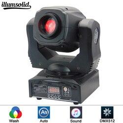 O mini ponto 60 w conduziu a luz principal movente com placa & placa da cor dos gobos, brilho alto 60 w mini conduziu a luz principal movente dmx512