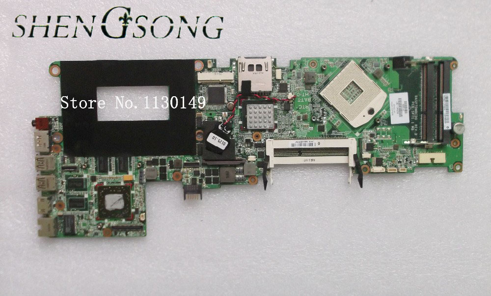 Free shipping 597597-001 board for HP envy15 laptop motherboard pm55 chipset free shipping 608364 001 board for hp 14