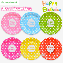 7inch30pcs MixedColor Disposable Plates High Quality Paperboard Plate Event Children Birthday Party Decoration Barbecue Supplies(  sc 1 st  AliExpress.com & Buy quality disposable plates and get free shipping on AliExpress.com