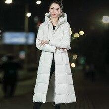 Winter Jacket Women Winter Down Parkas Coat Women Fashion Woman Parka Cotton Hooded Jacket Plus Size Korean Down Long Coat Women цены онлайн