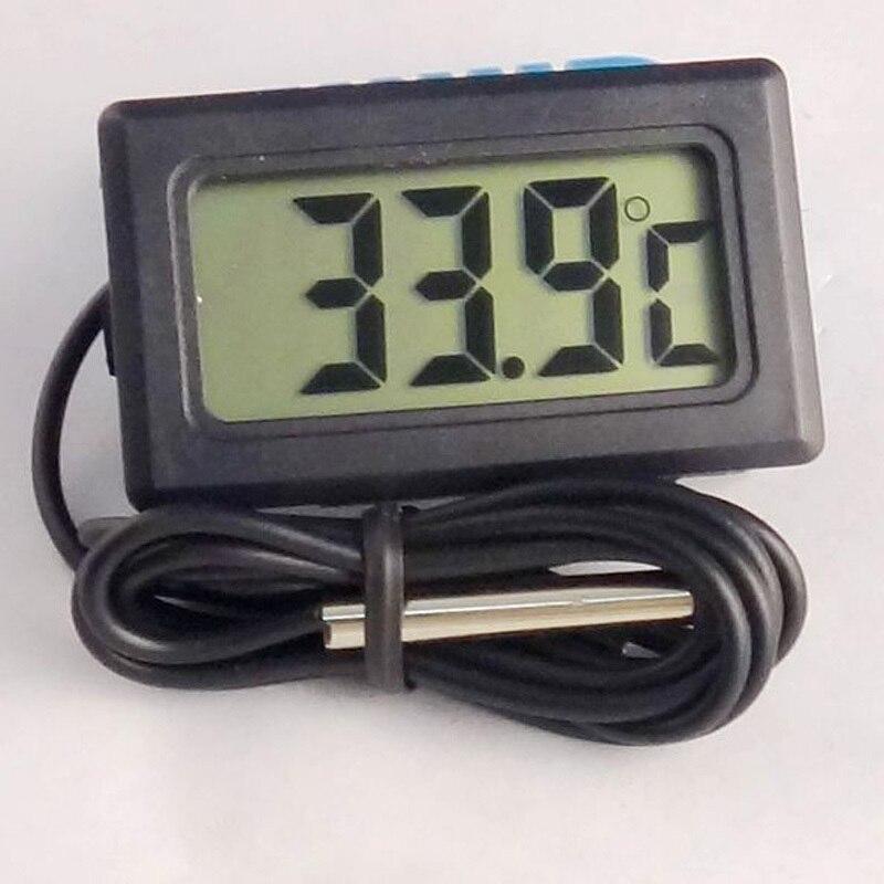 1 unid Pantalla LCD Coche refrigerador acuario embedded termómetro digital elect
