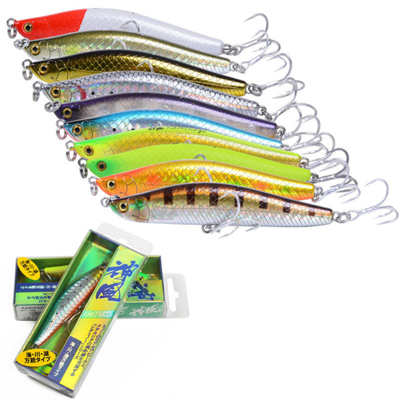 iLure Pencil Minnow 15g / 25g sea lures Spanish mackerel hook Carp Bait bass fishing tackle artificial bait fishing Lure pesca ilure sea curls fishing bait minnow 9 3cm 9g pesca hard lure minnow artificial fishing carp lure bait ball wobbler hook jerkbait