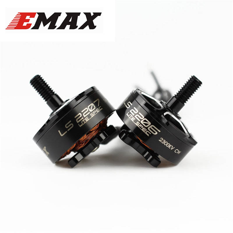 EMAX LS2206 Lite Spec 2206 2300KV 2550KV 2700KV CW Thread Brushless Motor For RC Multicopter Models Propeller Frame Spare PartS стоимость