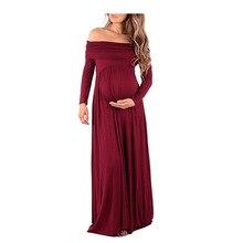 Bohemian Style Maternity photography dress