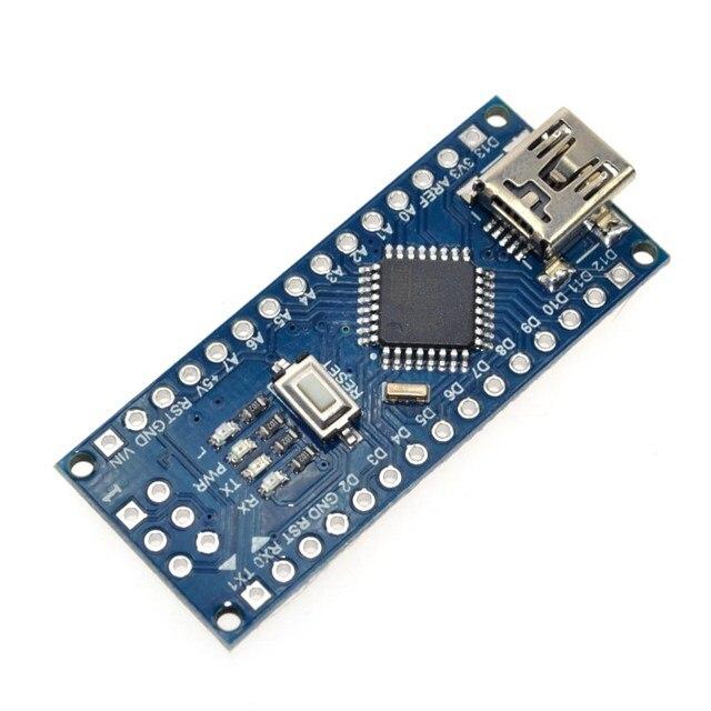 Avec le chargeur de démarrage 10 pcs/lot Nano 3.0 contrôleur compatible pour arduino nano CH340 pilote USB sans câble