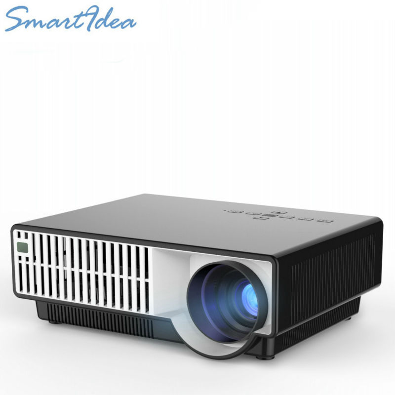 Led Lcd Projector X7 Home Cinema Theater Multimedia Led: New ARRIVE! LED 5500Lumens HD LCD Home Theater Projector