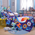 UNIKIDS Lindo de dibujos animados funda nórdica conjunto juego de cama para niño o niñas Niños Twin size KT009