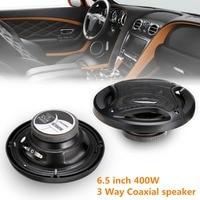 2 шт. автомобильный динамик 6,5 дюйма 400 Вт автомобильный сабвуфер Hi-Fi коаксиальный динамик Автомобильная задняя/передняя дверь аудио музыка ...