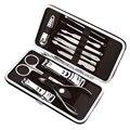 Portable 12Pcs/ Set Easy Use Nail Tools Clipper Manicure Pedicure Base Polish