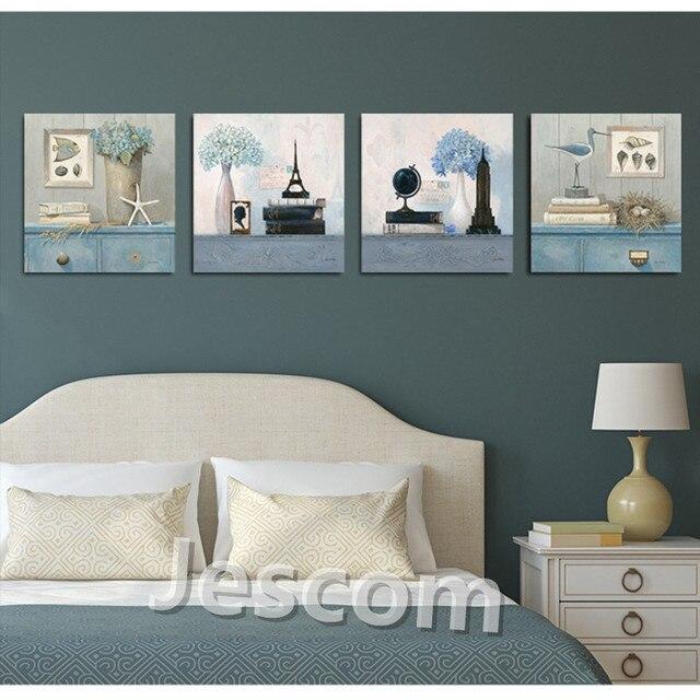 Photo Encadrée Peinture Européenne Style Lumineux Couleur Bird