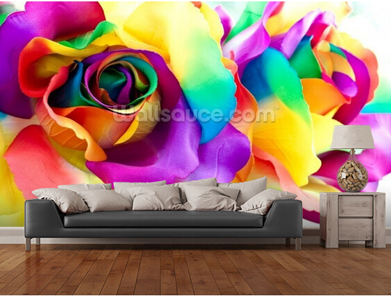 Custom floral wallpaper,Romantic Rose,3D modern photo for living room bedroom kitchen restaurant wall waterproof wallpaper