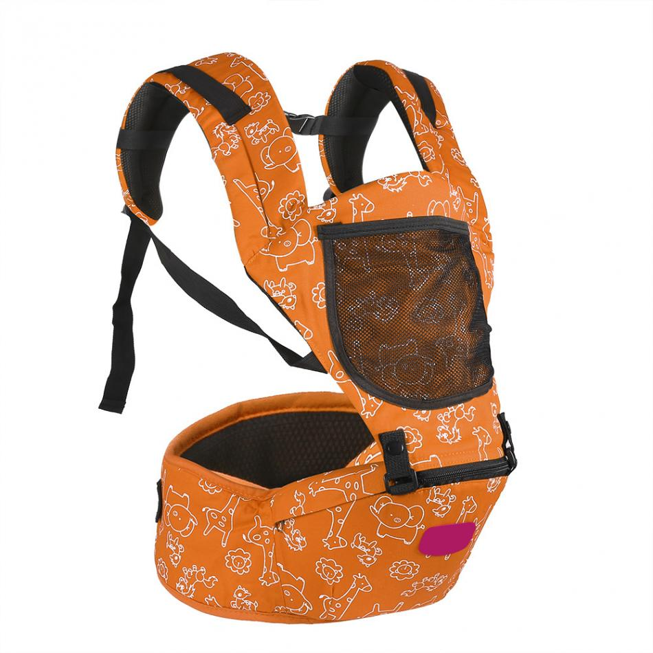 Ergonomic Breatheable Adjustable Ergonomic Baby Carrier Hip Seat For Newborn 15