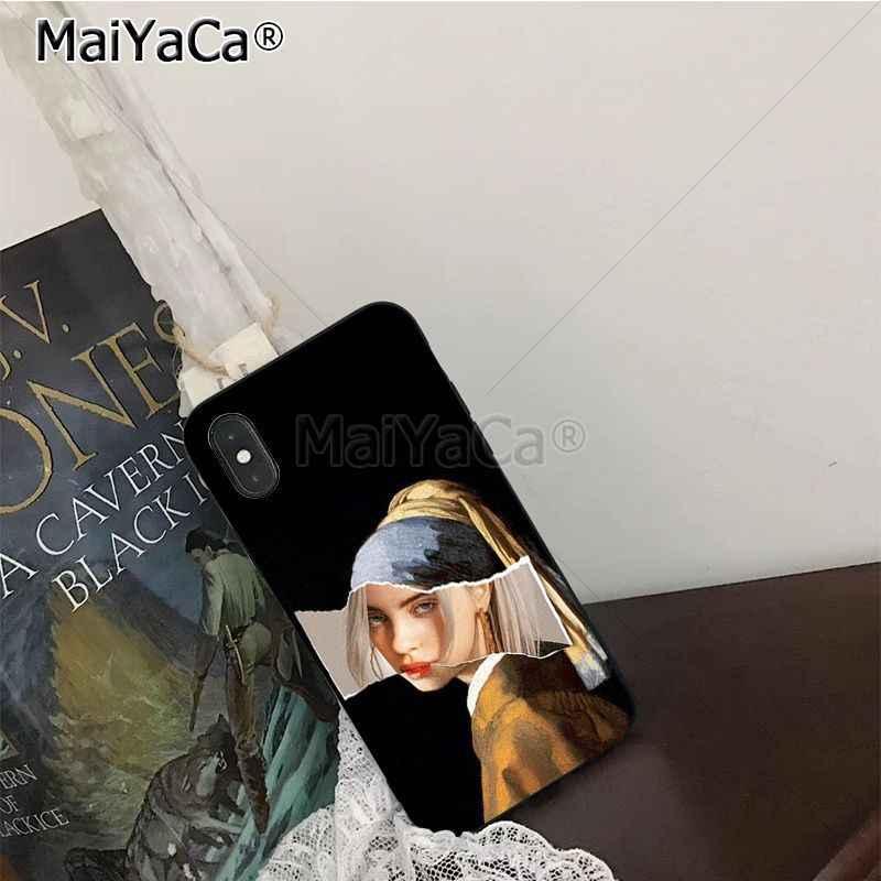 Maiyaca mitologia grega tpu macio borracha caso de telefone celular para iphone x xs xr xs max 7plus 6s 7 8 plus 5 5S 5c 11 pro max caso