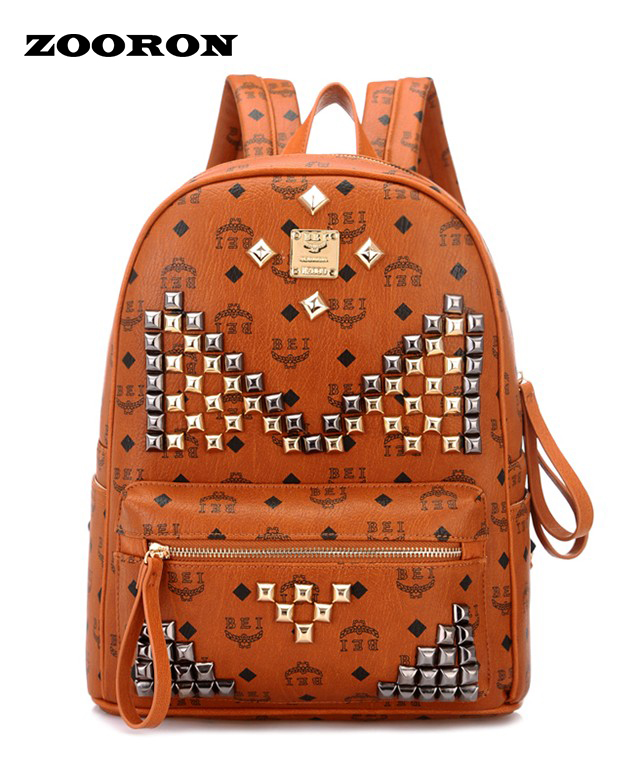Online Get Cheap Leather Backpack Chain Stud -Aliexpress.com ...