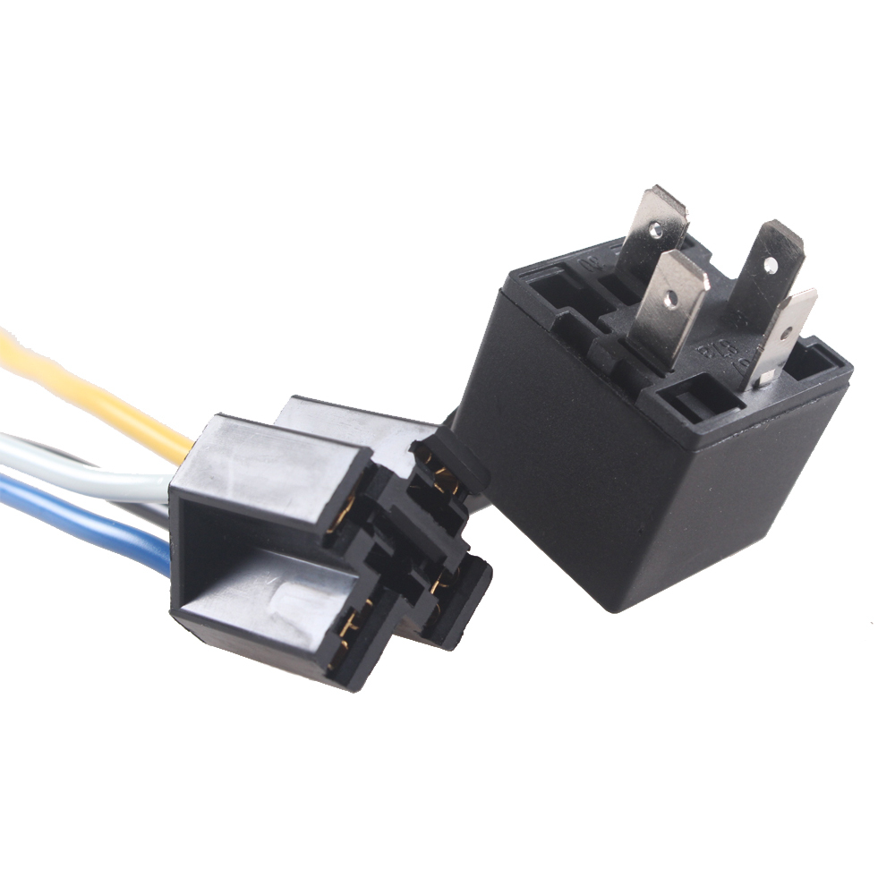 Ee Support 5 X Black Dc 12v 40a Spst Premium Relay