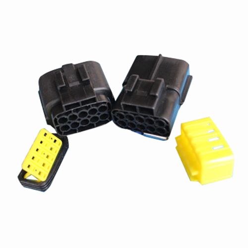 Black Waterproof Electrical Wiring ELECTRICAL WIRING Multi connectors 2 3 4 6 PIN Size: 8 Pin Sets: 3 Sets