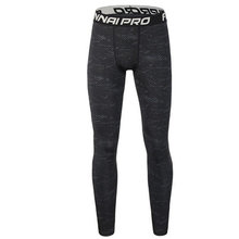 Men compression Quick-dry leggings, Gyms Fitness bodybuilding male workout trousers Joggers elastic Tight pants