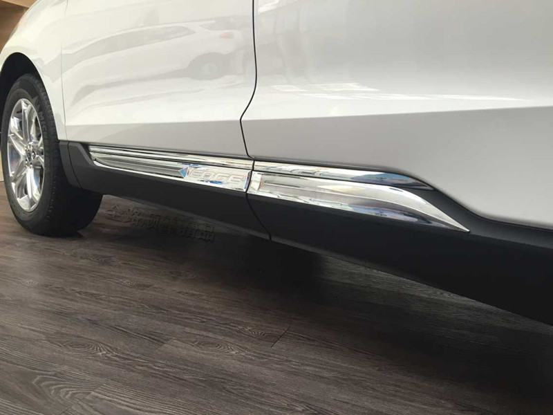 Pcs Set Car Abs Chrome Trim Door Protector Accessories For Ford Edge  In Reflective Strips From Automobiles Motorcycles On Aliexpress Com Alibaba