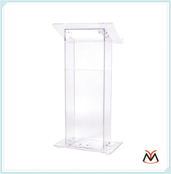 Hot Selling/Floor Standing Clear Acrylic Lectern
