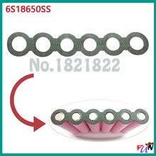 10 шт./alot 18650 6 S изоляционная прокладка для защиты аккумулятора коврик одинарный
