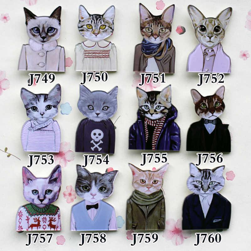 Мультяшная кошка японская пара, черная брошь, булавка, эмалированная брошь, значок, безопасная булавка с отворотом, Женские Ювелирные изделия, подарки