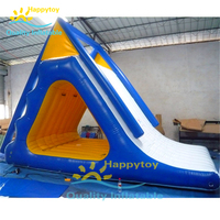 Giant inflatable water slide for adult used swimming pool slide