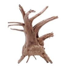 Дерево натурального дерева ствол коряги аквариум украшения растений орнамент