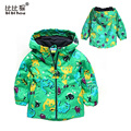 2016 sports Children Outerwear Boy Baby Clothes Kids Jacket Coat Boys Outwear Kid Clothing Dinosaur Cartoon Windproof coat