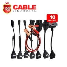 10 UNIDS/LOTE Envío Libre de DHL Auto TCS Cables Del Coche Conjunto Completo en la acción