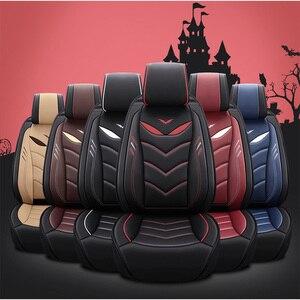 Image 5 - Housses de siège pour voiture en cuir, avant et arrière, couvre siège pour Chevrolet Onix 2018 2013, durable et confortable, pour Onix 2016