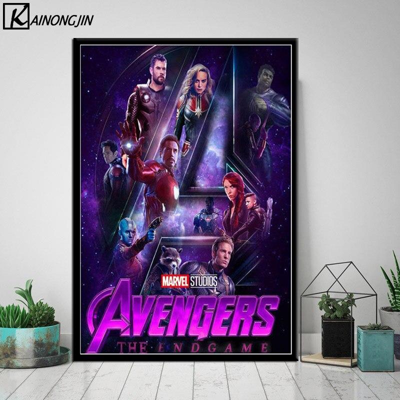Poster Avengers 4 Endgame Hot New 2019 Marvel Movie Wall