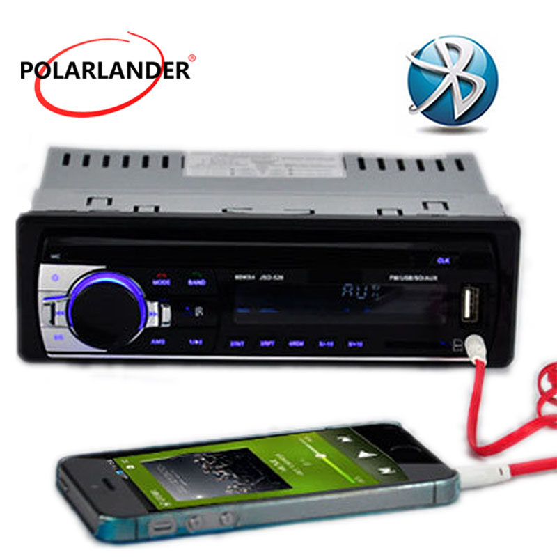 New Car radio bluetooth auto car audio Stereo bluetooth Player support Phone AUX-IN MP3 FM USB 1 Din remote control in dash 12V