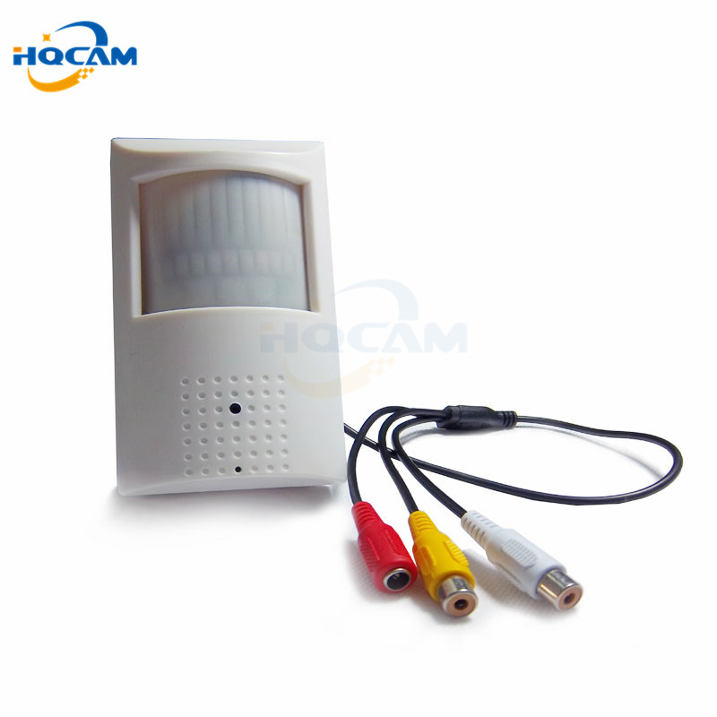 HQCAM 420tvl Sony CCD 940nm led camera Pir mini Camera Covert Audio Night vision CAMERA PIR IR Camera PIR Motion Detector 36 led 8mm ir 420tvl security camera digital video camera 1 3 sony night vision color ccd camera
