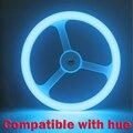 Совместимость с Оттенком мост 1.0 и 2.0 Офтальмологической Помощи RGB LED Кольцевой света 18 Вт E26 E27 by оттенок приложение непосредственно
